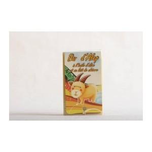 Bar d'Alep à l'huile d'olive de première pression et au lait de chèvre - Lot 6